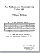 an anthem, for thanksgiving (satb)