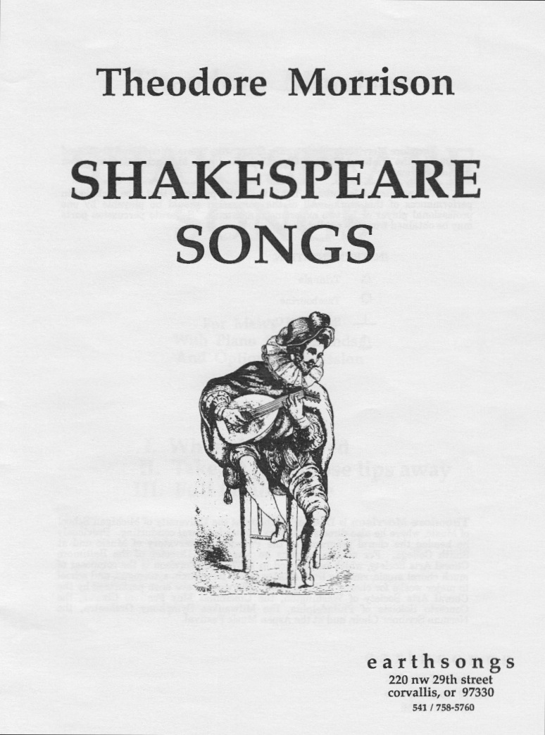 shakespeare songs (percussion part)