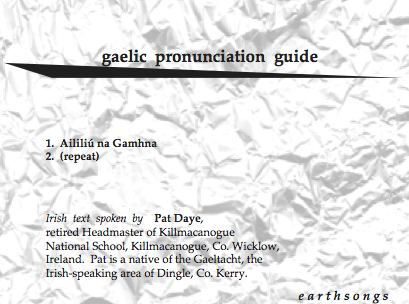 aililiu na gamhna pronunciation cd