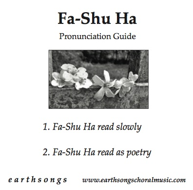 fa-shu ha pronunciation cd
