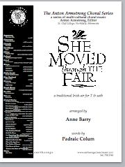 she moved through the fair (satb)