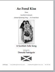 Ae Fond Kiss Satb S 417 1 90 Earthsongs One World Many
