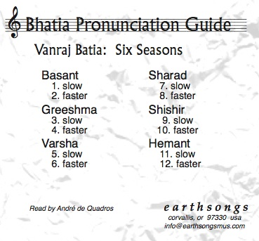 six seasons pronunciation cd