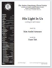 His light in us (satb) - Click Image to Close
