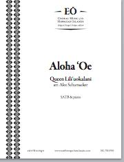 Aloha 'Oe (satb) - Click Image to Close
