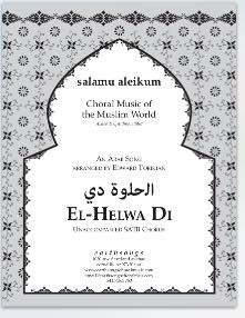el-helwa di (satb) - Click Image to Close