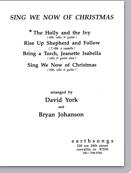 holly & the ivy (ttbb) (pdf if ordered for whole choir) (york)