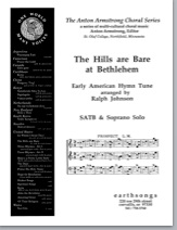 hills are bare at bethlehem (satb)