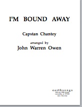 i'm bound away (ttbb) (pdf if ordered for entire choir)