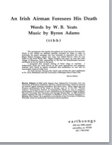 irish airman (ttbb) (pdf if ordered for entire choir)