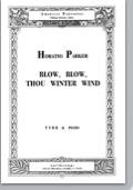 blow, blow, thou winter wind (ttbb)