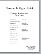 komm, heil'ger geist (ssaattbb) (pdf if ordered for choir)