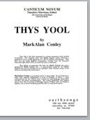 thys yool (satb) (pdf if ordered for entire choir)