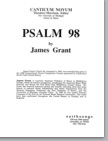 sing to the lord (satb) (pdf if ordered for entire choir)