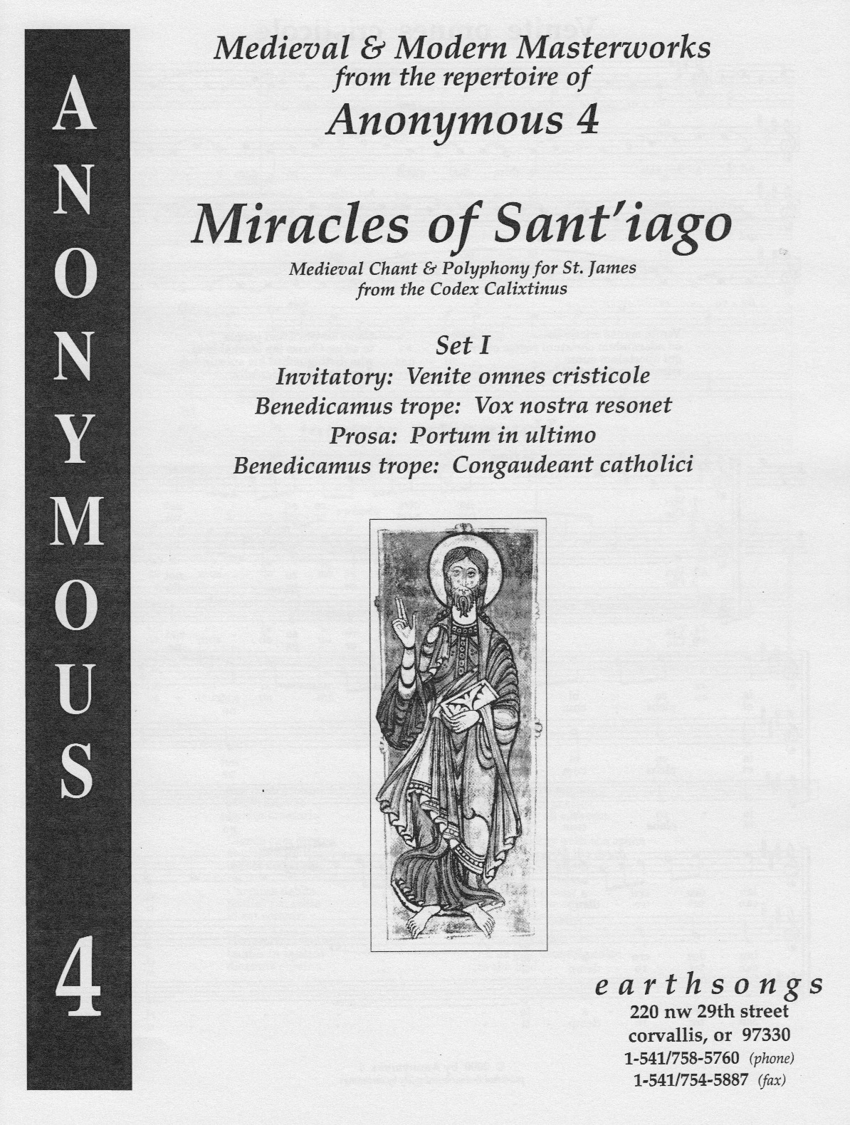 miracles of sant'iago (pdf if ordered for entire choir)