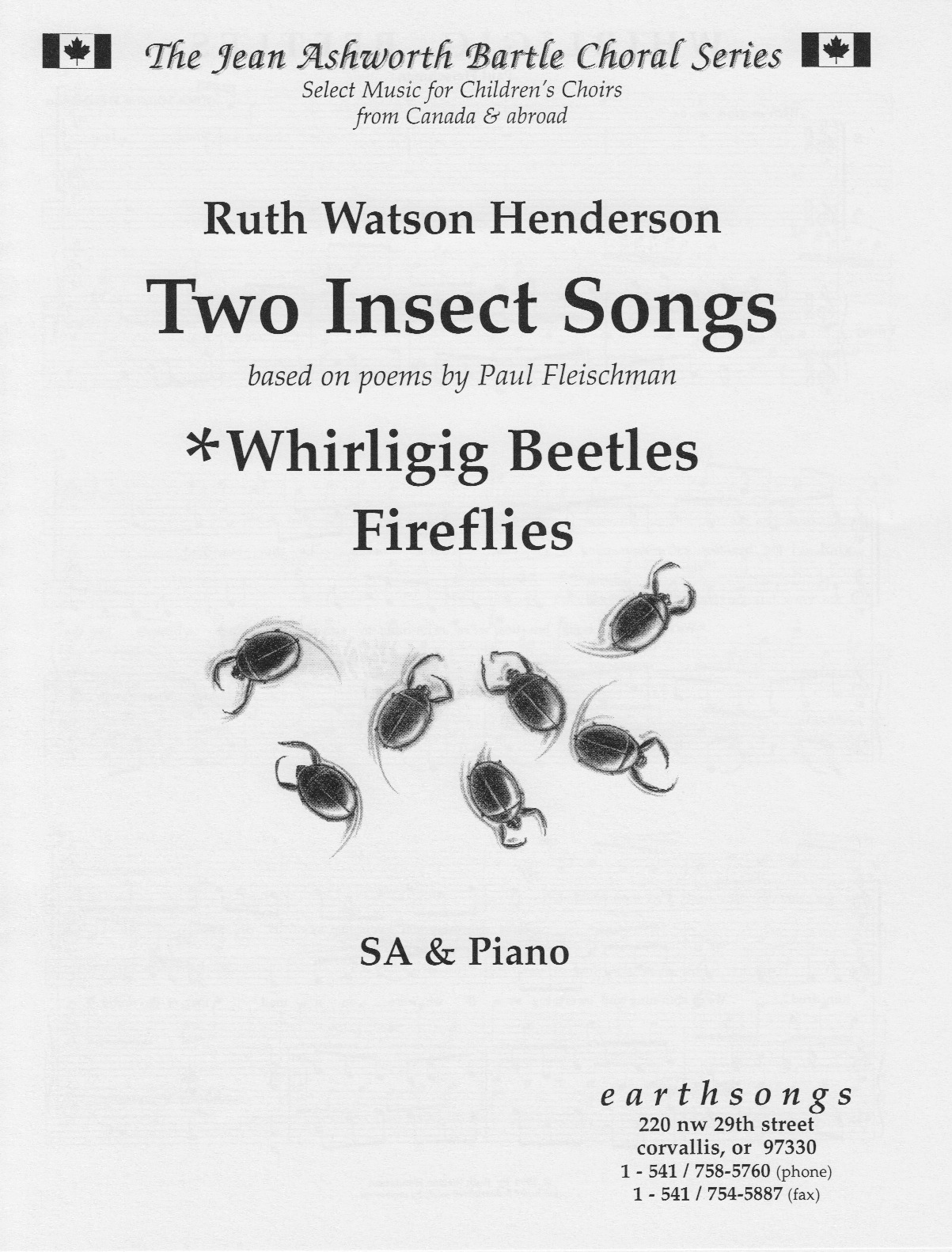 two insect songs (sa)
