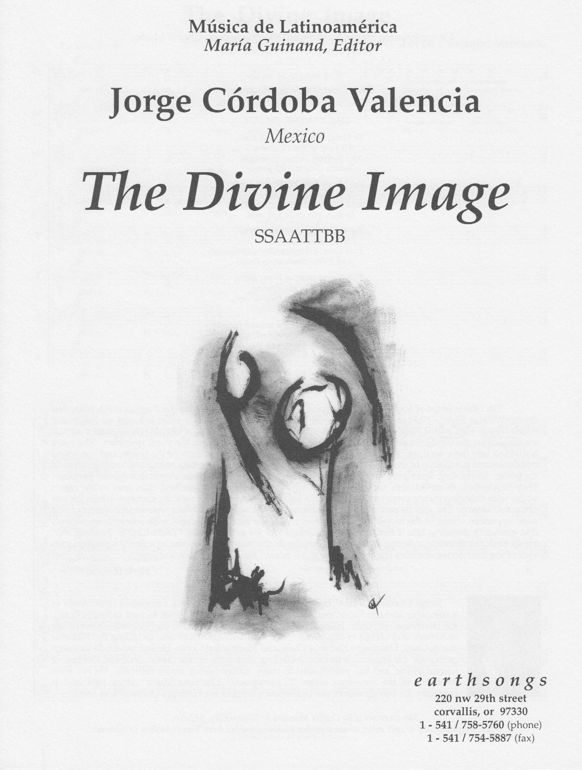 the divine image (ssaattbb) (pdf if ordered for entire choir)