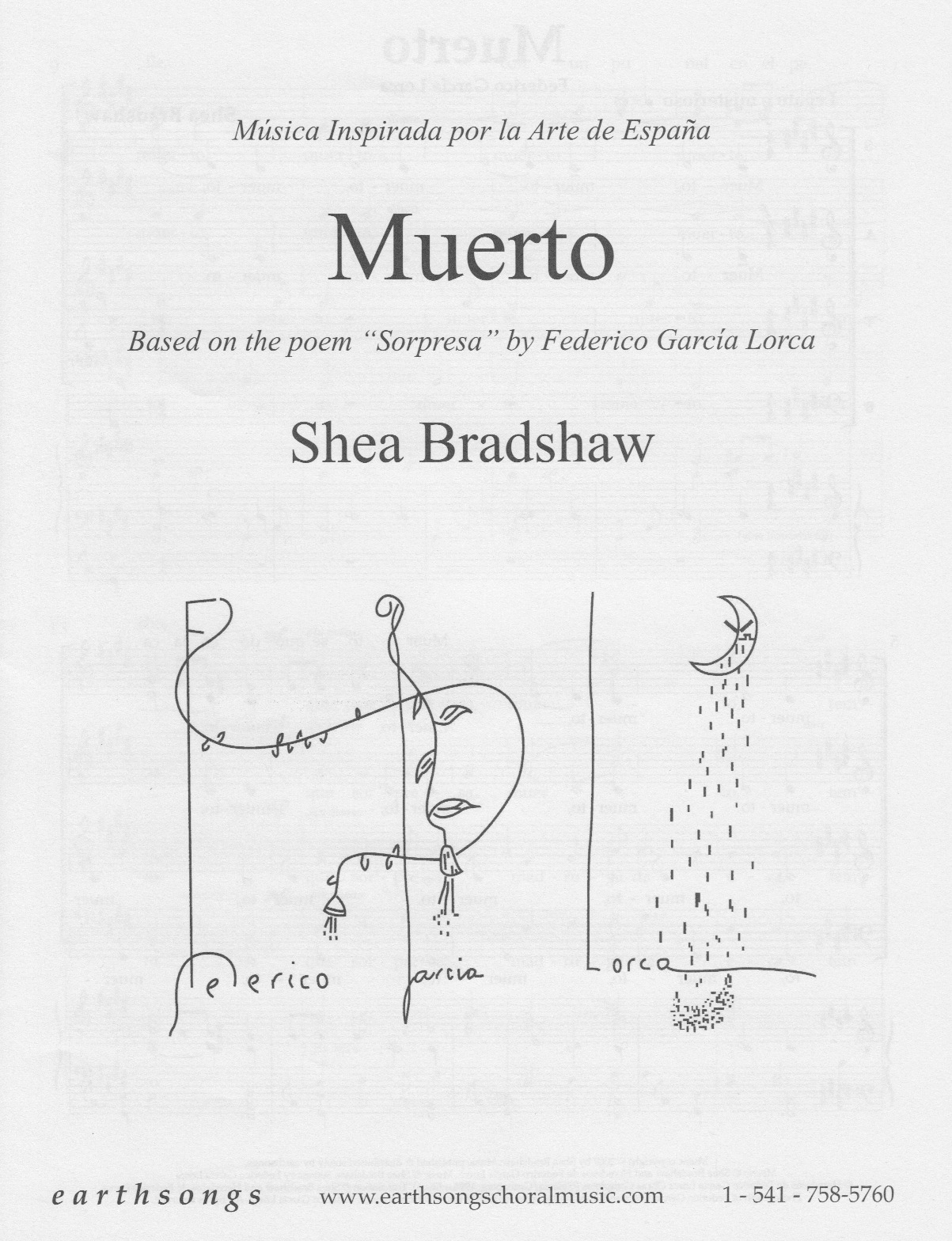 muerto (satb) (pdf if ordered for entire choir)