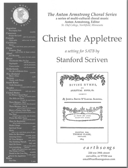 christ the appletree (satb)