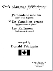 un canadien errant (satb) (pdf if ordered for entire choir)