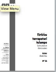 tirtiricu tarrapatari tulumpe (pdf if ordered for entire choir)