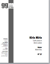 kirio mirio (pdf if ordered for entire choir)
