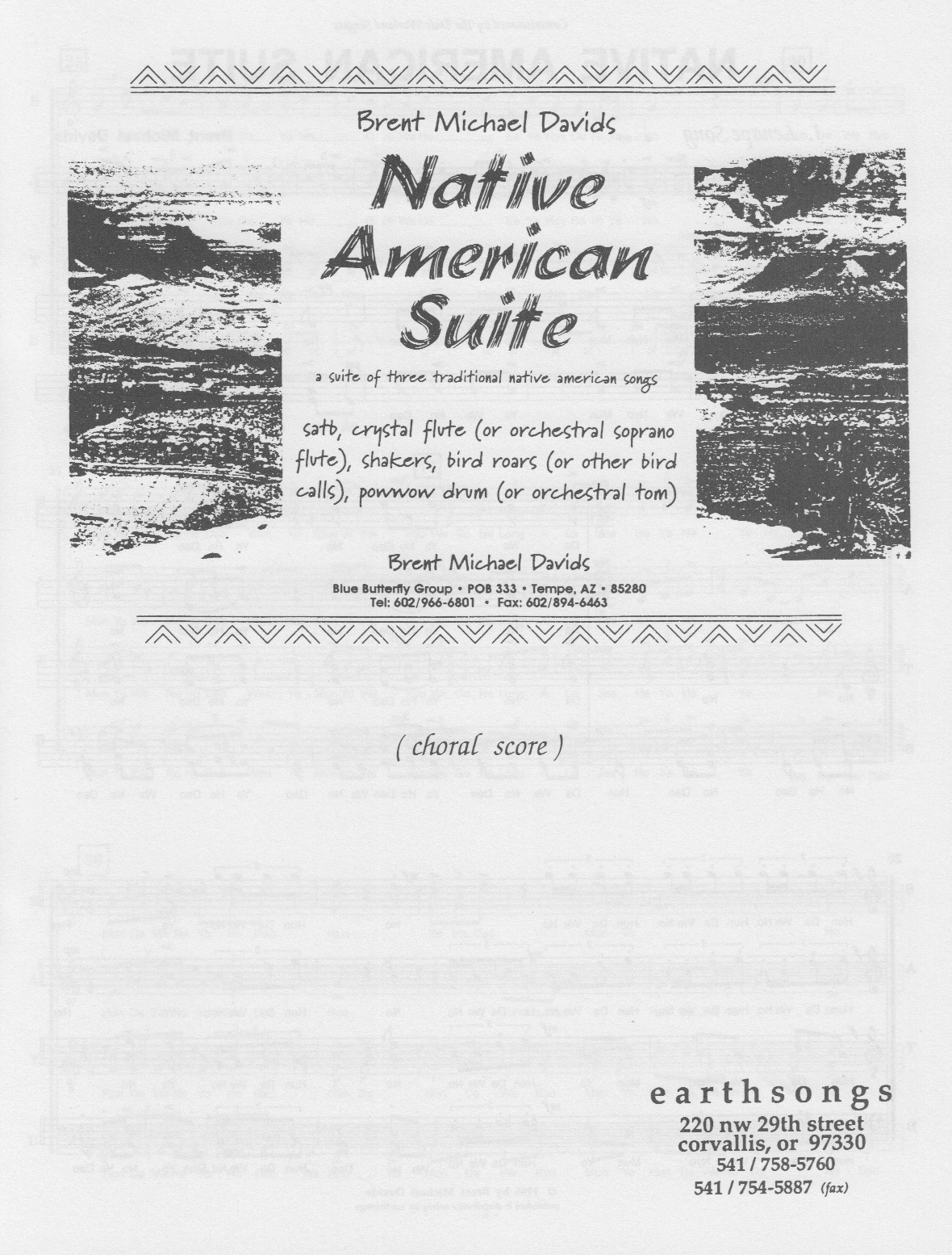 zuni sunrise song (satb)
