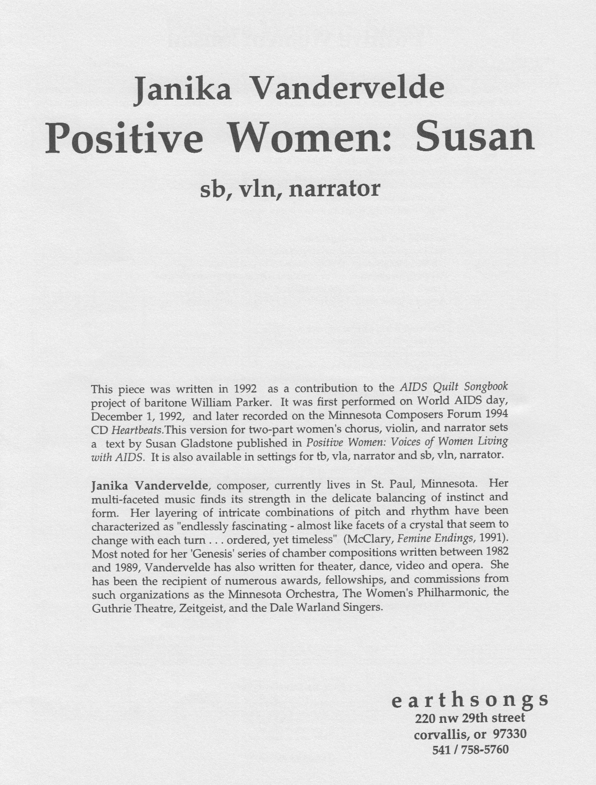 positive women: susan (sb)