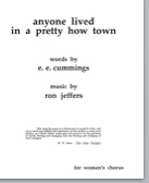 anyone lived in a pretty how town (pdf if ordered for choir)