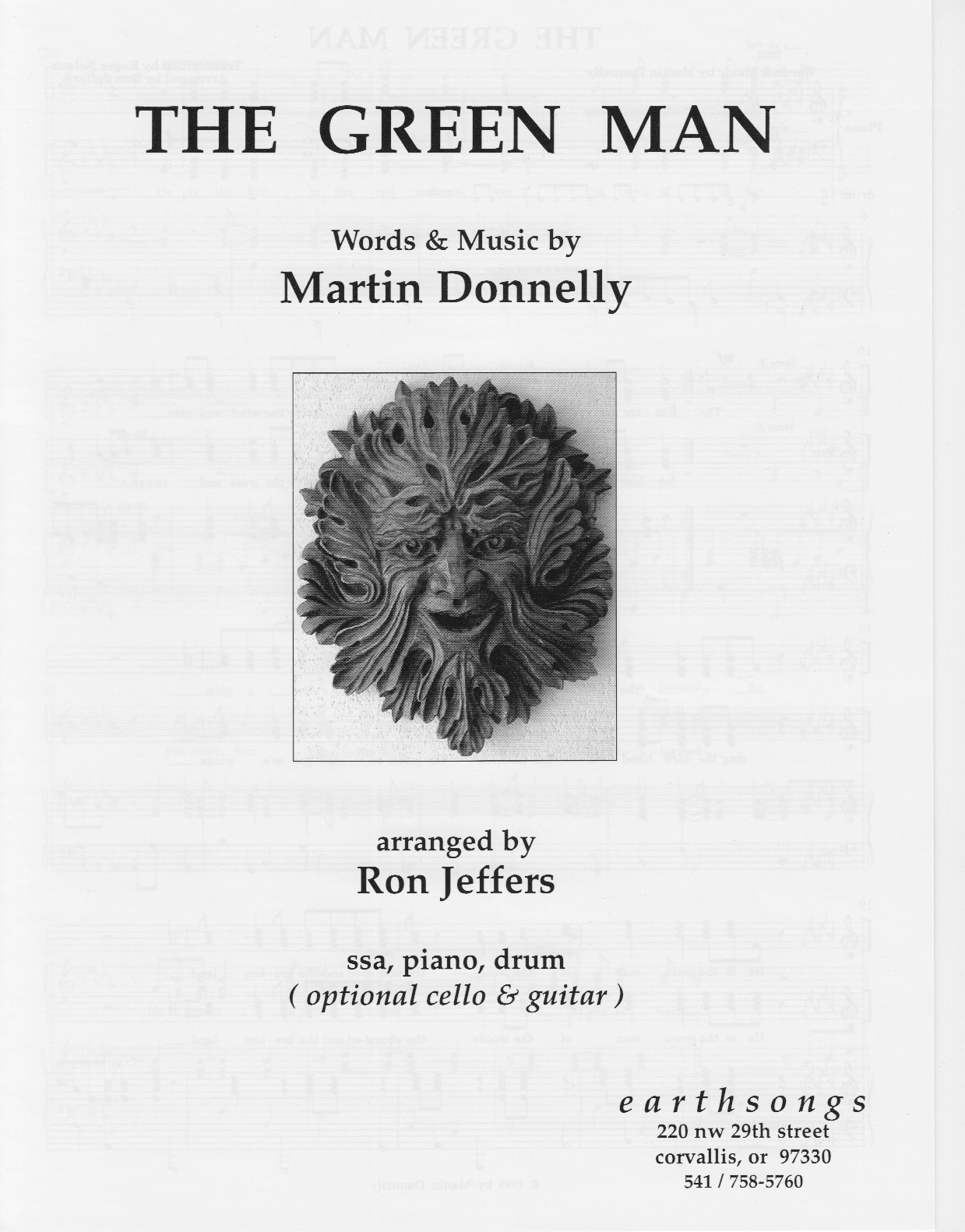 the green man (ssa parts)