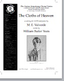 the cloths of heaven (satb)