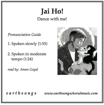 jai ho! pronunciation cd - Click Image to Close