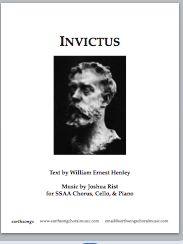 Invictus Ssaa S 444 230 Earthsongs One World