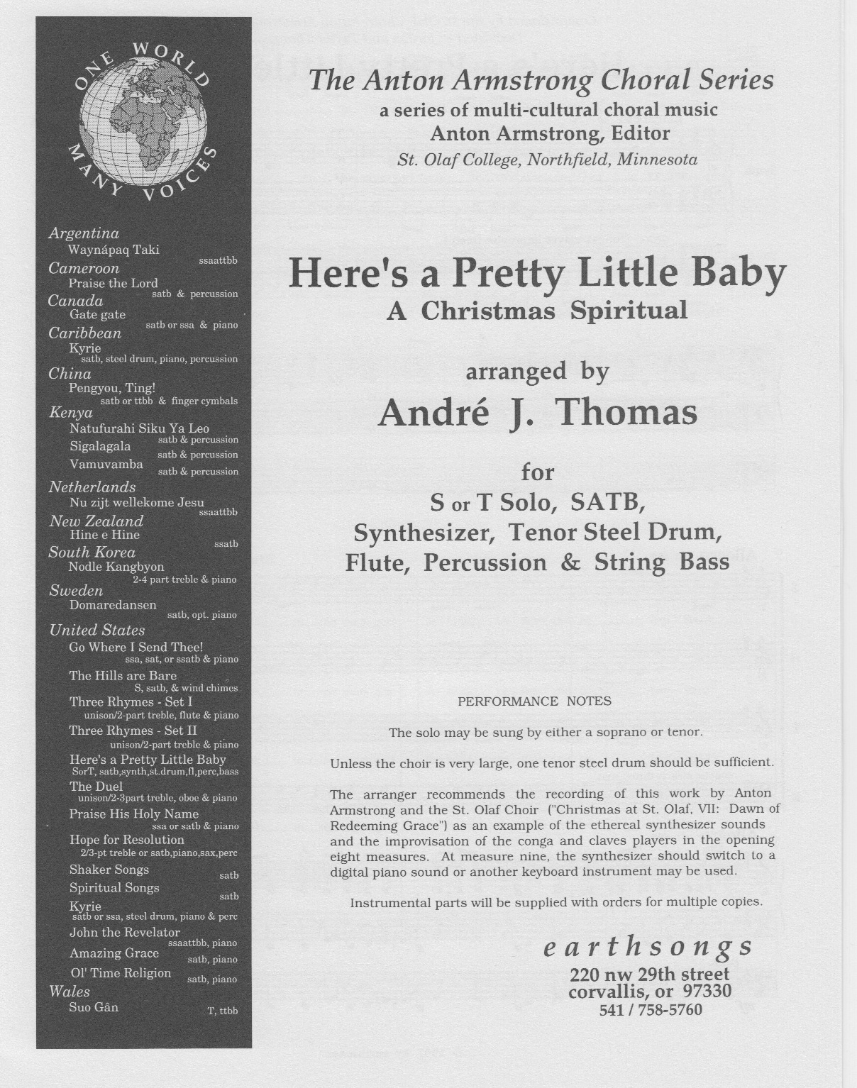 here's a pretty little baby (parts) (pdf)