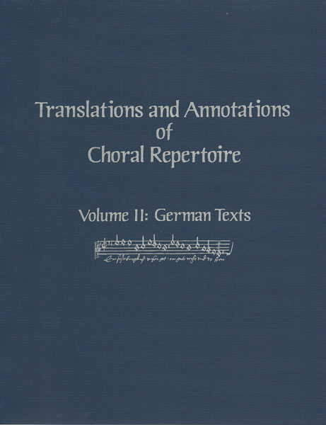 translations & annotations vol. 2 german texts (hard)