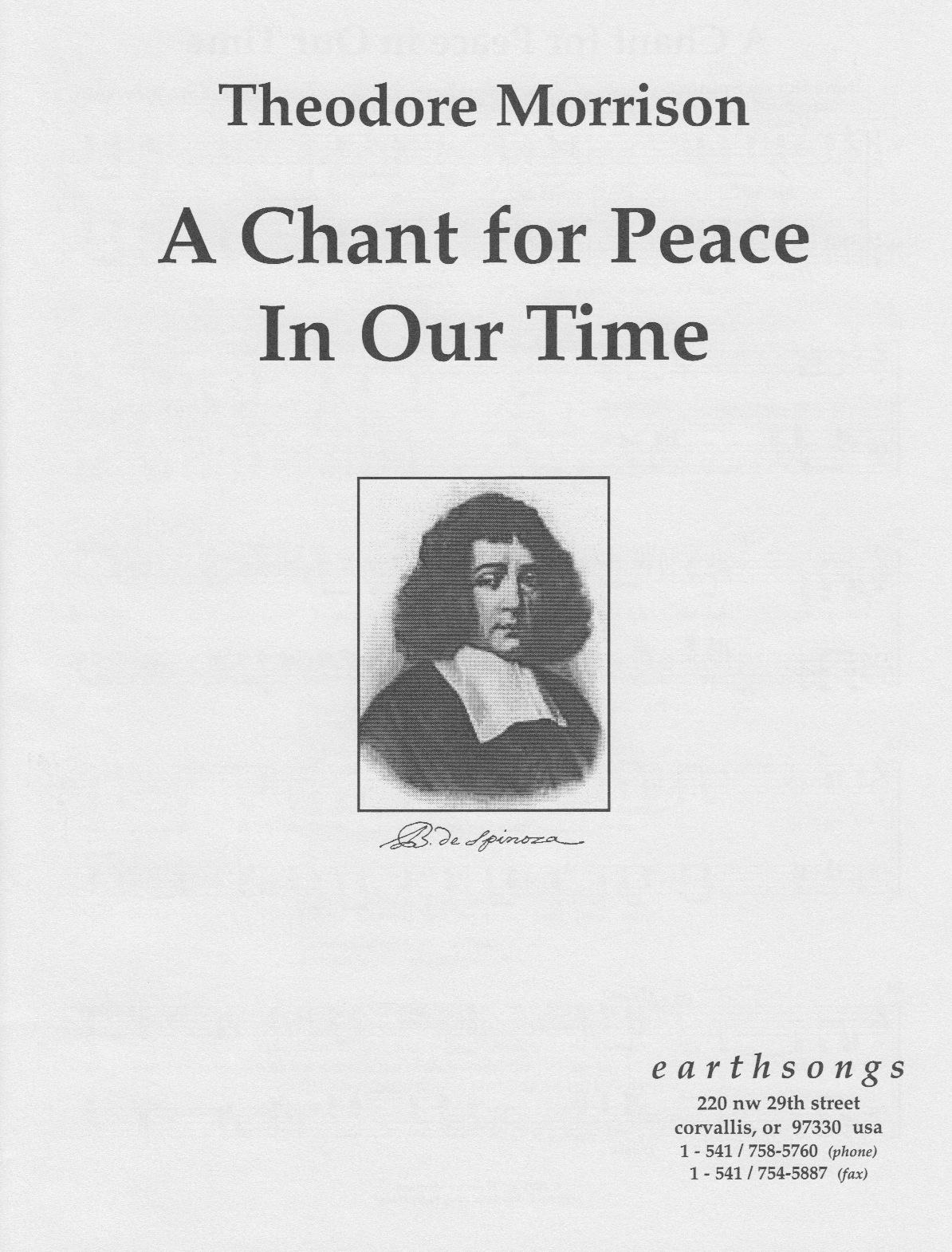 a chant for peace in our time (ssatbb)(pdf if ordered for choir)