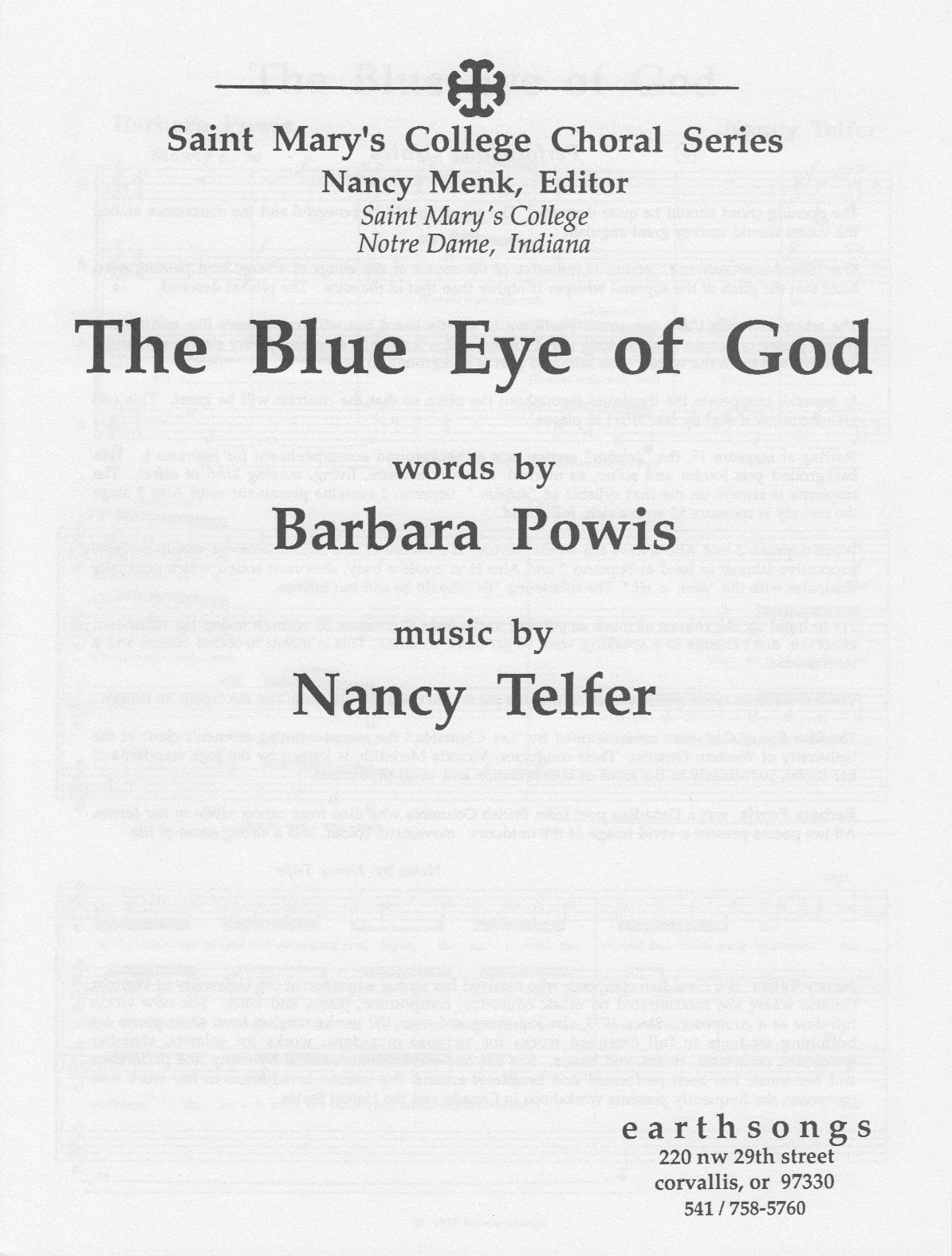 the blue eye of god (ssaa)