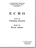 echo (satb) (pdf if ordered for entire choir)