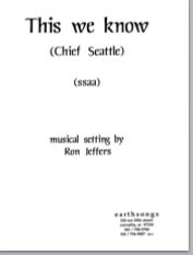 this we know (ssaa) (pdf if ordered for entire choir)