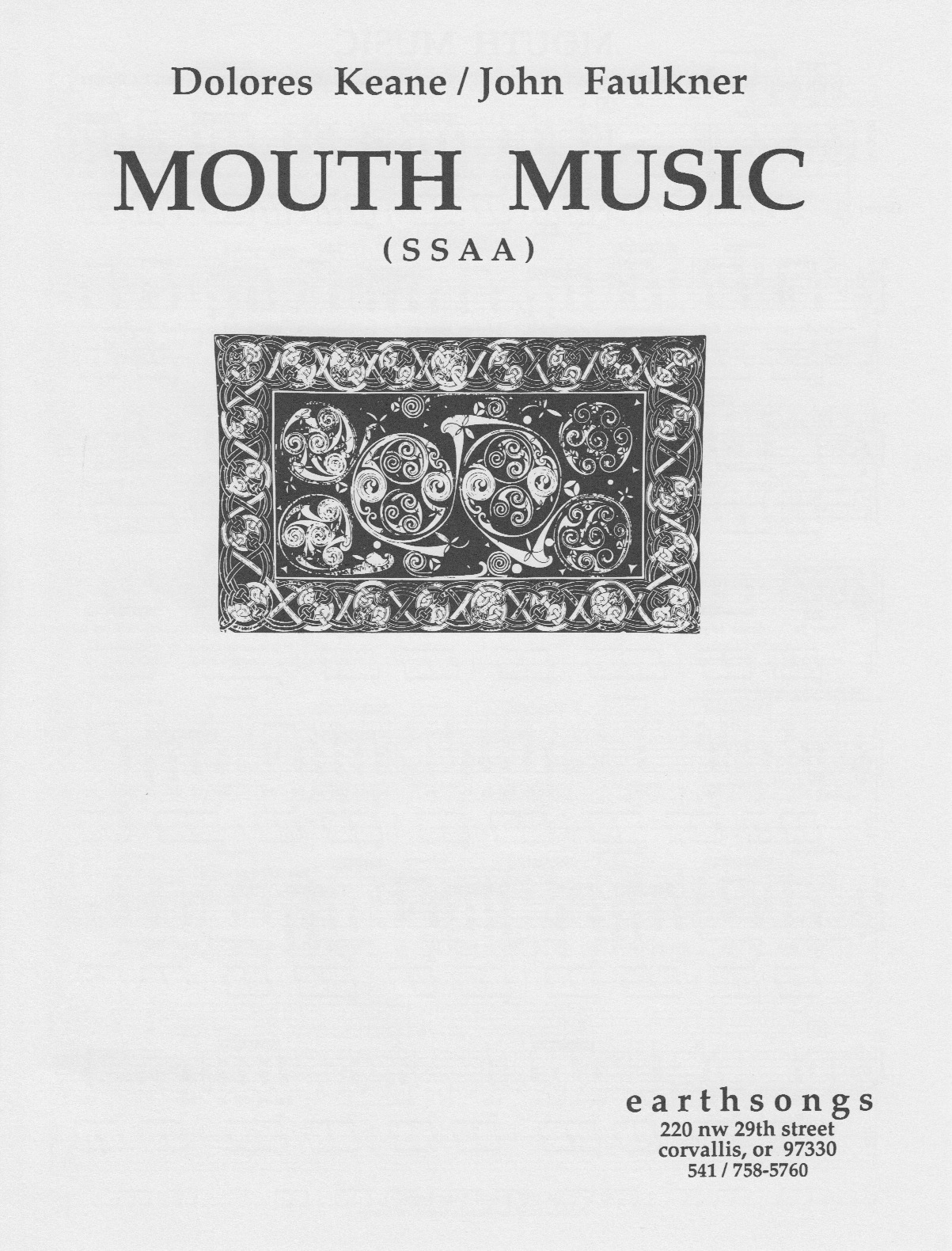 mouth music (ssa)